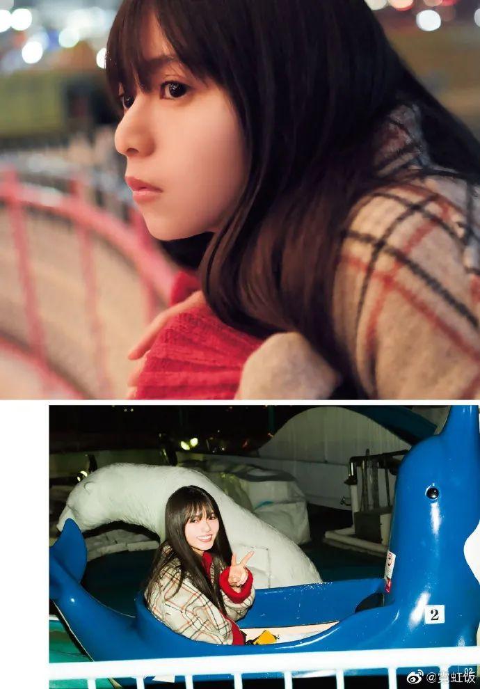 斋藤飞鸟登上杂志《週刊少年マガジン》2020年39号 雪肤娇嫩太迷人!