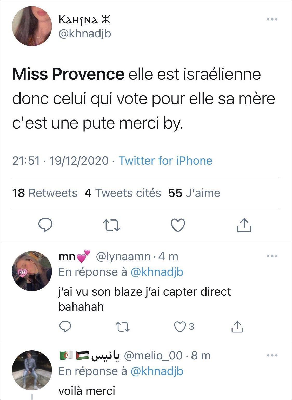 右翼分子要求不要投票给法国小姐