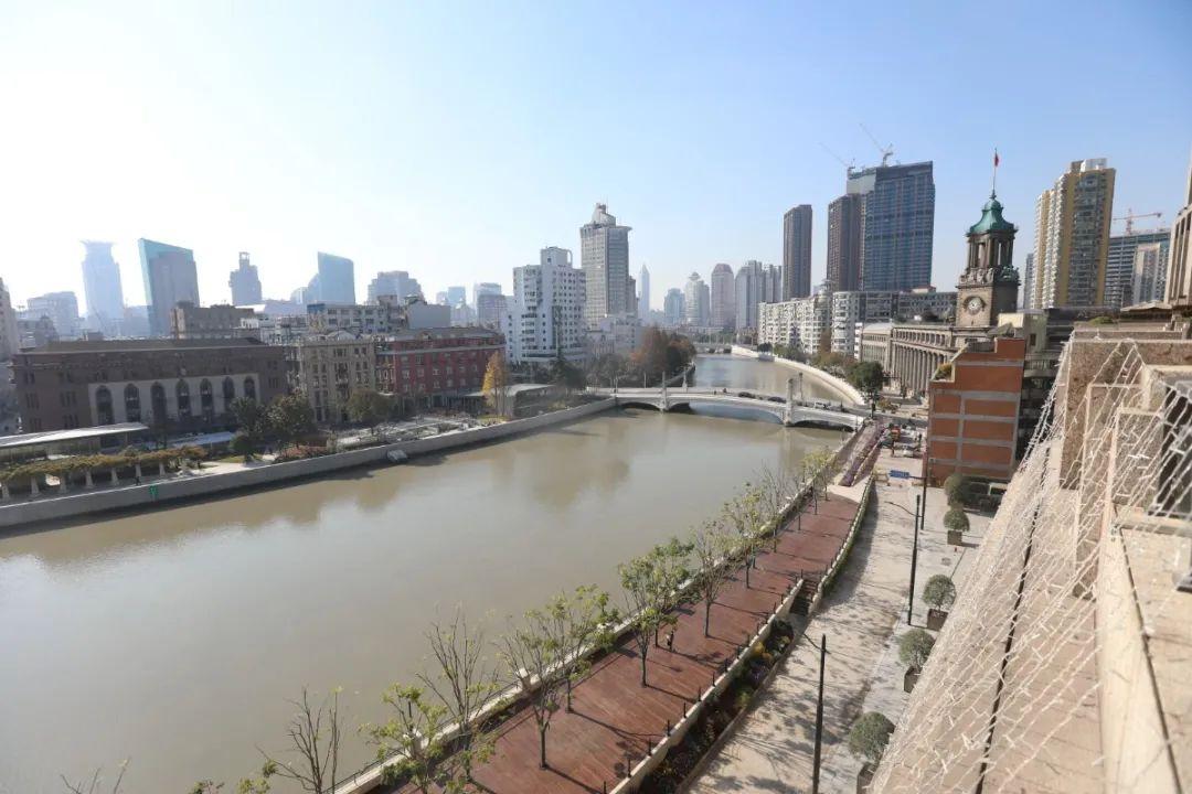 【探索】苏州河虹口段滨河空间实现贯通,近期将对公众开放