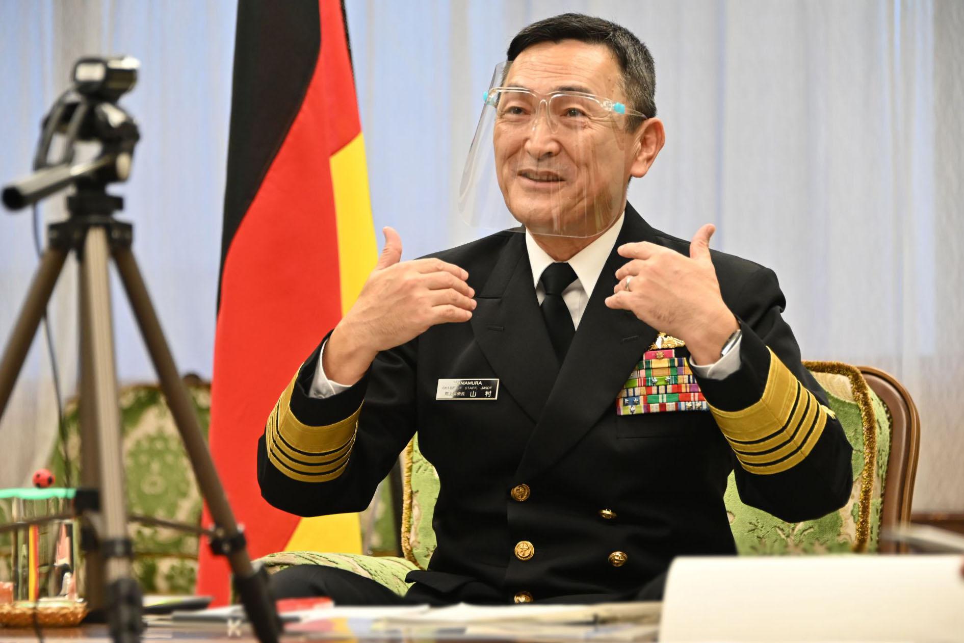 日本自衛隊高層暴發聚集性疫情?海自一、二把手感染