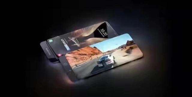屏占比高达100%,可滑盖拍照,三星环绕全面屏手机突然曝光