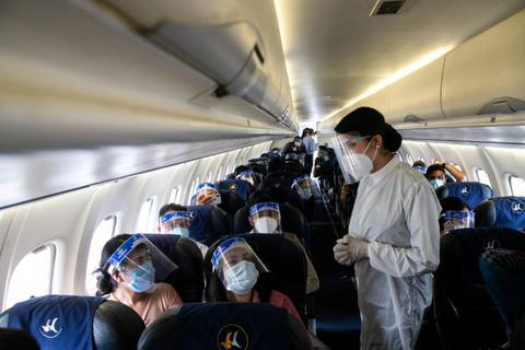 原料图:尼泊尔航空公司航班(Getty)