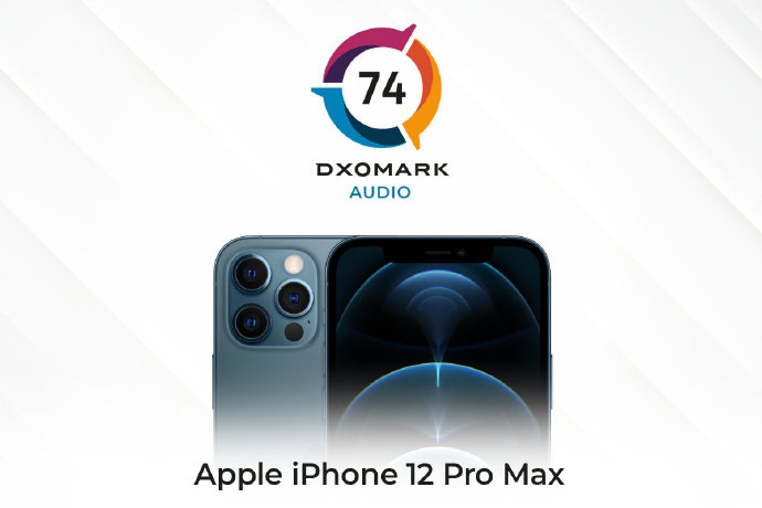 DXOMARK公布iPhone 12 Pro Max 音频得分:74 分,排名第四