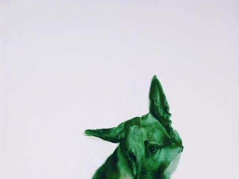 中国当代艺术家周春芽作品