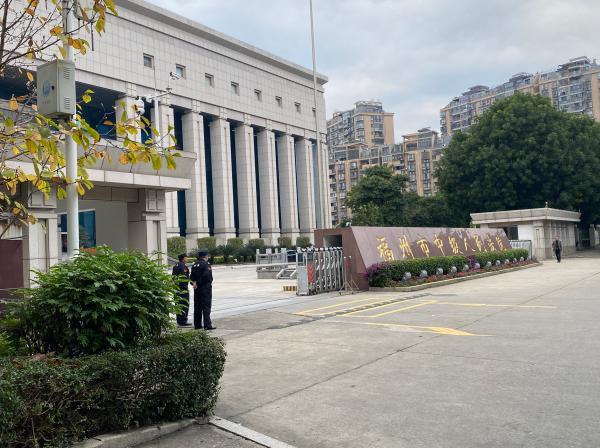 福州中院开庭审理吴谢宇有意杀人案 澎湃音信记者 王选辉 演习生 李楠