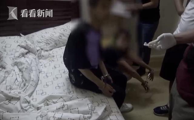 民警怀疑一男一女在宾馆卖淫嫖娼 结果令人吃惊(图)