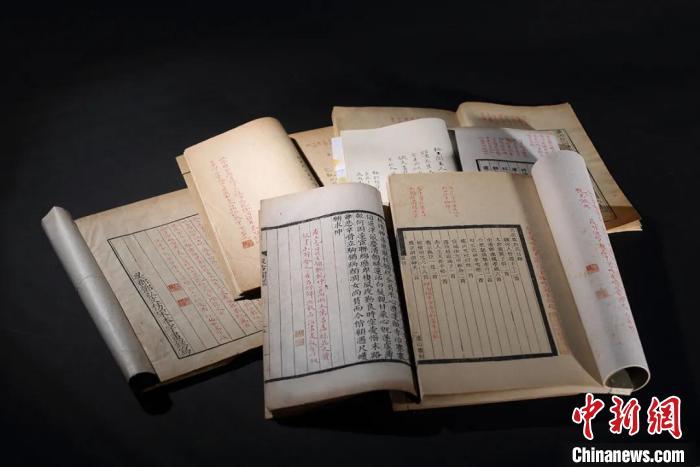 金石书画、古籍古墨名作集中展出 带今人徜徉传统文人精神世界【组图】