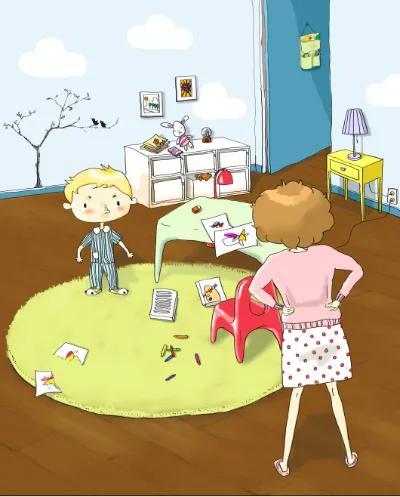 邋遢的妈妈+凌乱不堪的家,会养出什么样的孩子?你该知道了