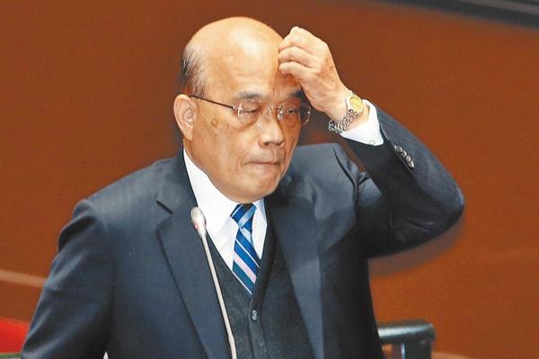 国民党民意代表赴警局告发苏贞昌散布谣言