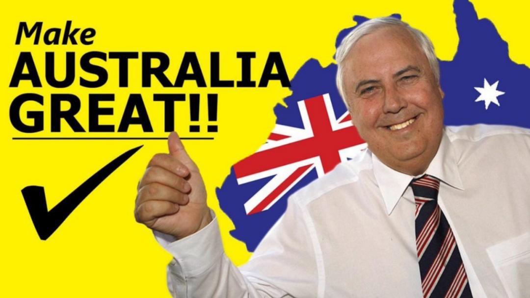 帕默竞选口号:让澳洲伟大起来
