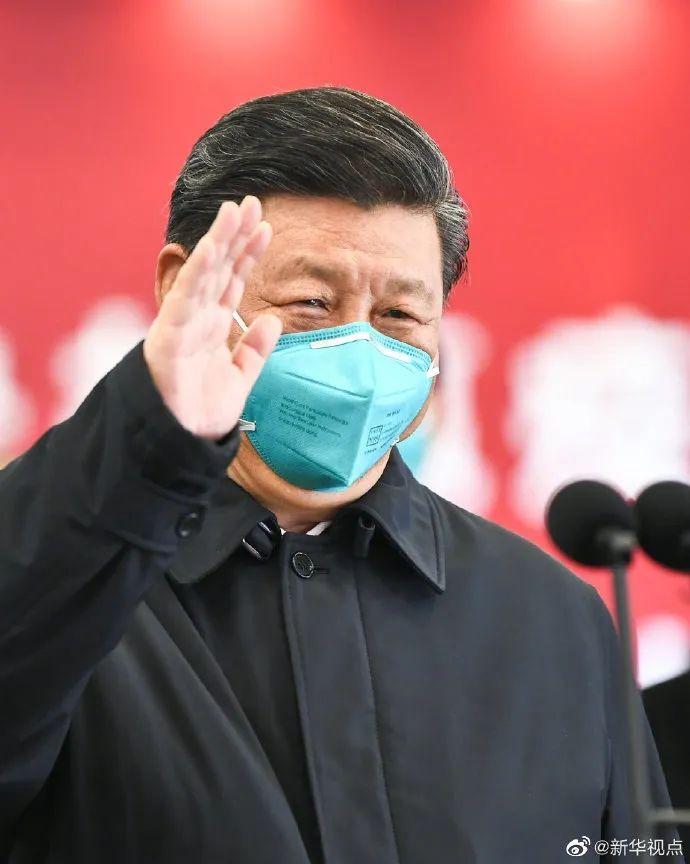 習近平:黨和人民感謝武漢人民!圖片