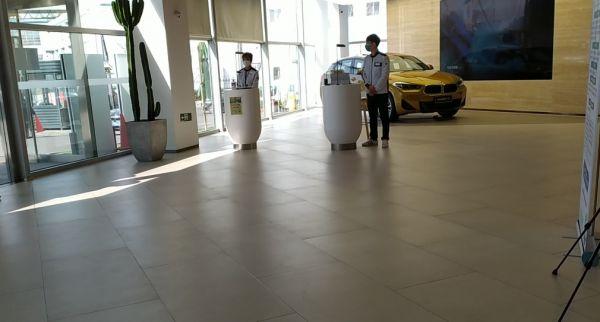 宝马4S店 图片来源经观记者拍摄