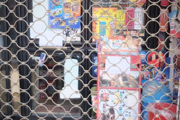 马德里的华人食品店在当局禁令前就已关闭。