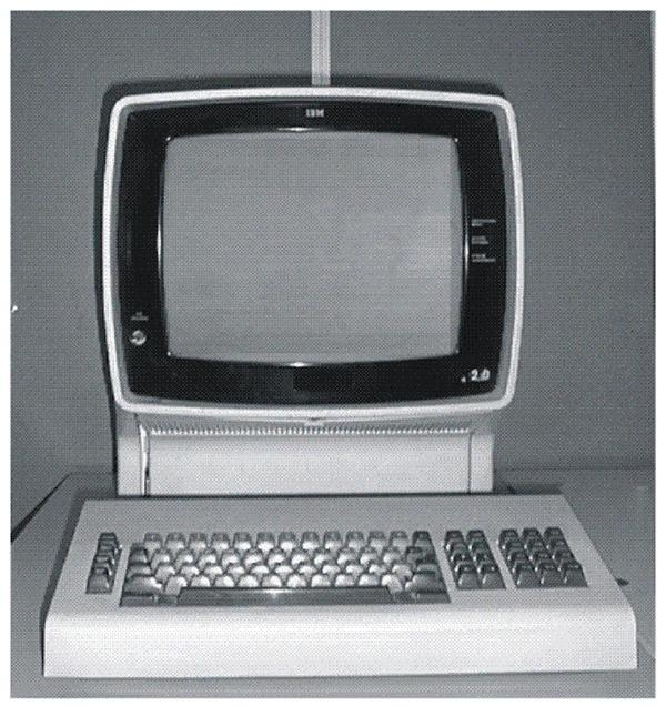IBM 3270终端 图片来源:IBM