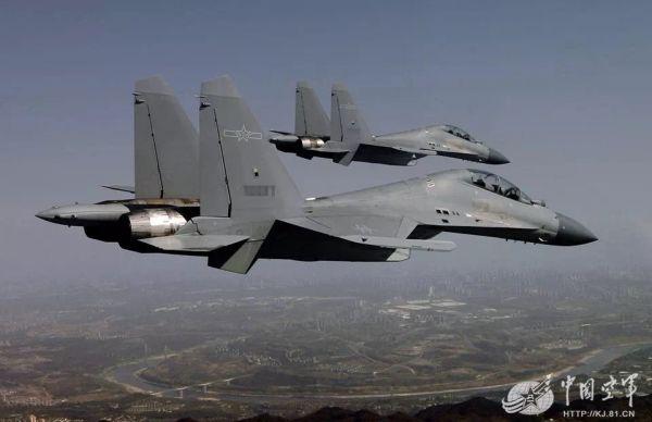 港媒:中国军机将用低可视涂装 有助在台海南海行动