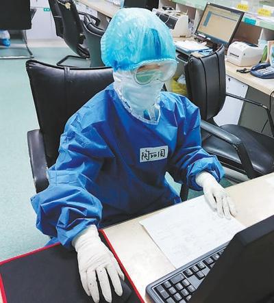 """浙江医疗队""""90后""""护士陶丽圆——""""只要战疫需要,我就会继续拼"""""""