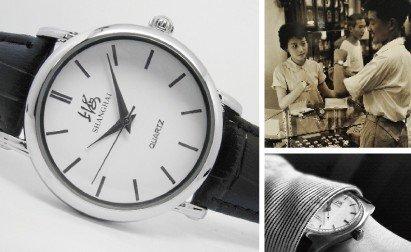从经典走向时尚 周总理最爱的上海表潮流进化史