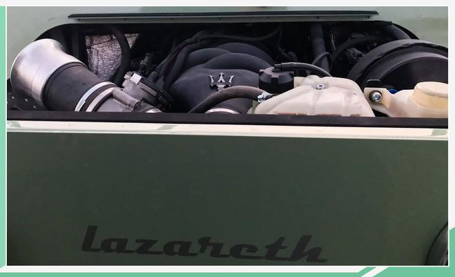 V8引擎/军用小吉普!玛莎拉蒂Mini Moke民用版