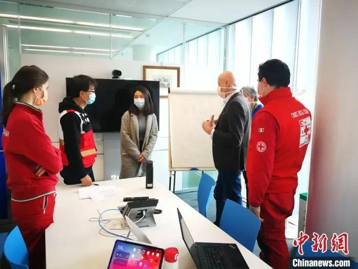 中国专家组在意大利。四川大学华西医院供图