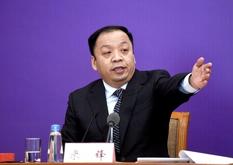 国家卫生健康委新闻发言人、宣传司副司长米锋主持发布会。