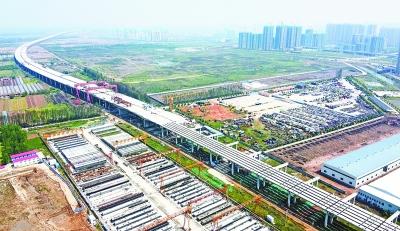 武汉四环线重点项目全面重启