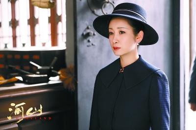 秦海璐在《河山》中饰演姜雅真
