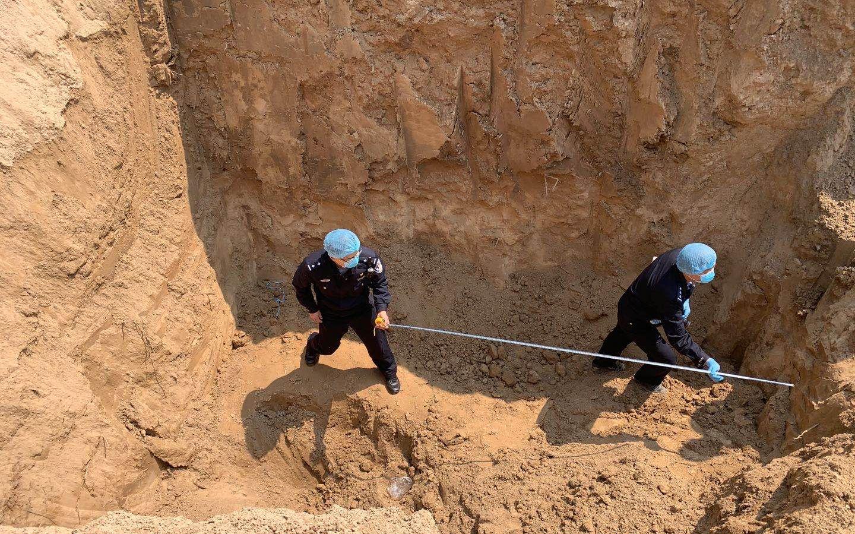 事故救援现场。新京报记者 雷燕超 摄