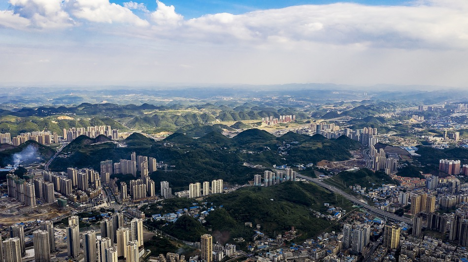 贵州遵义市。 视觉中国 原料图