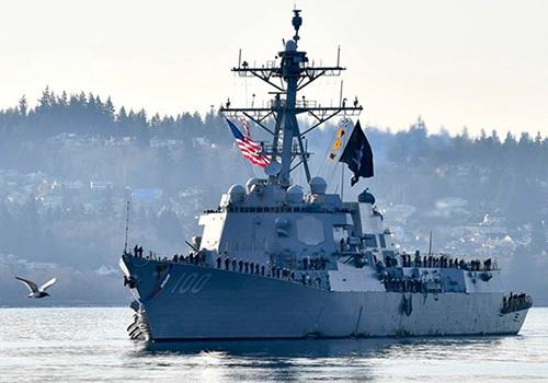基德号驱逐舰(DDG-100) 来源:外交媒体