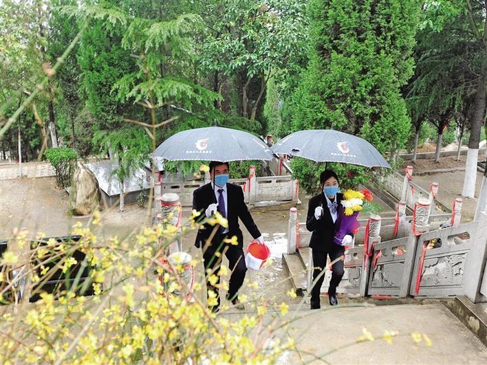 陕西:绿色祭扫和生态安葬渐成潮流