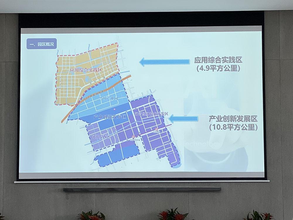 马桥AI创新区分为两个部分。