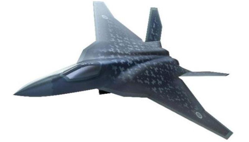 日本五代机代号F-3,图为F-3战斗机最新概念方案图