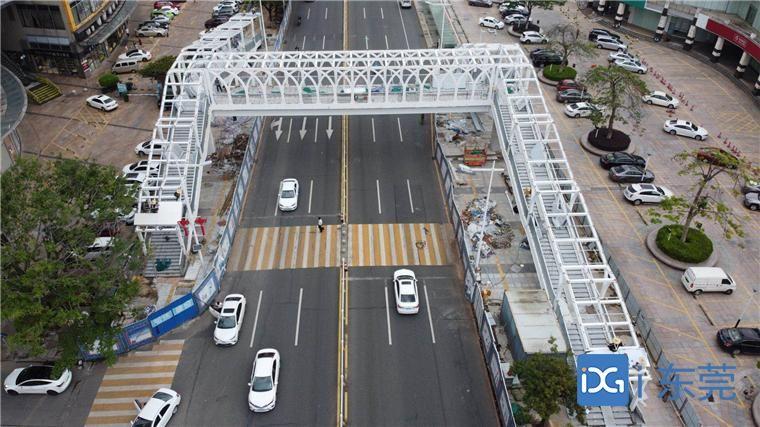 本月底南城将有3座天桥投入使用