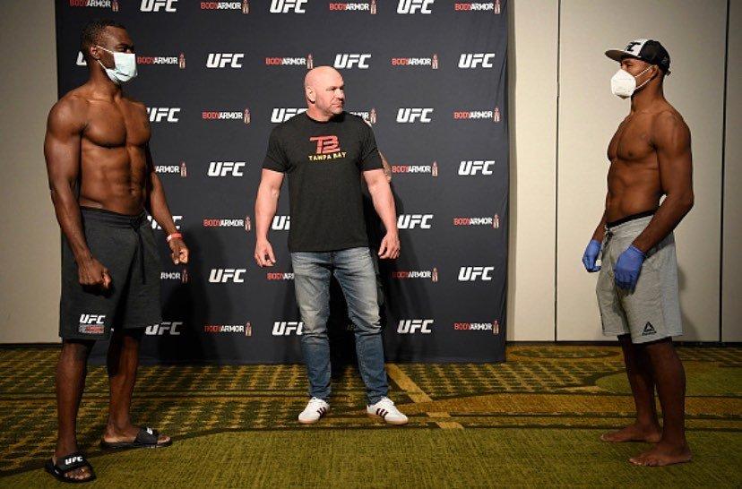 选手确诊新冠UFC还敢复赛?谁给了白大拿这勇气