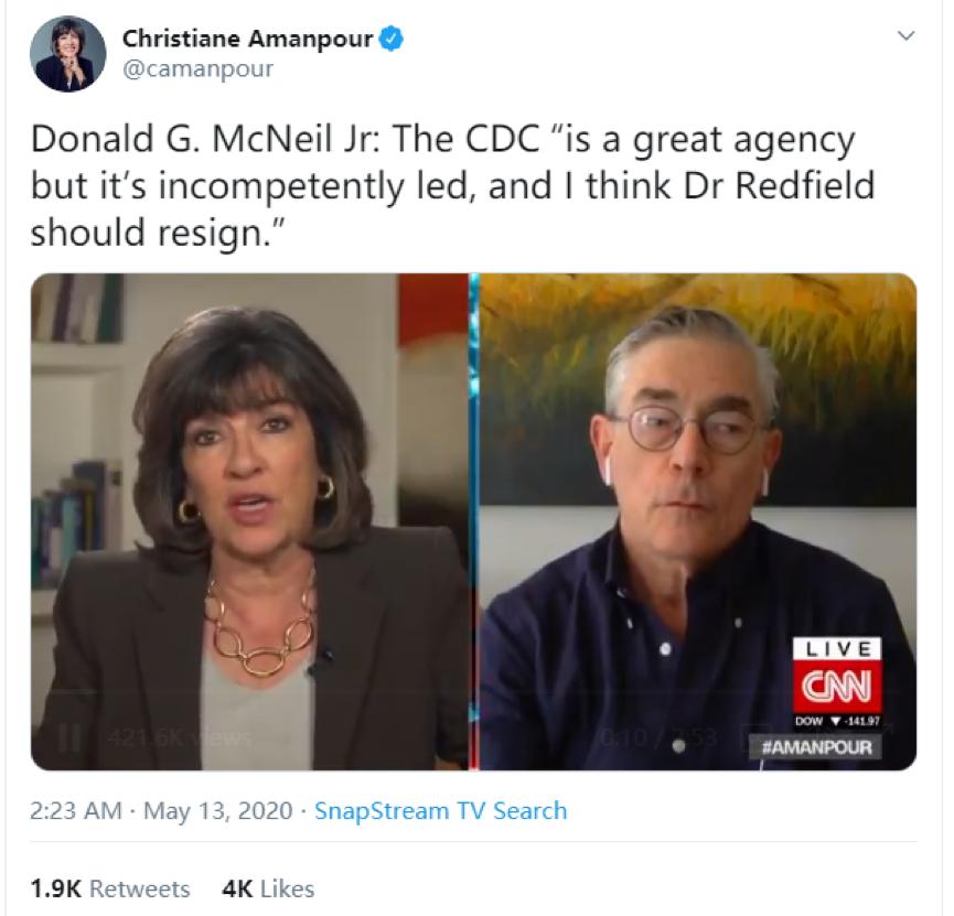 """传递中国实情的美国""""良心记者"""",被约谈"""