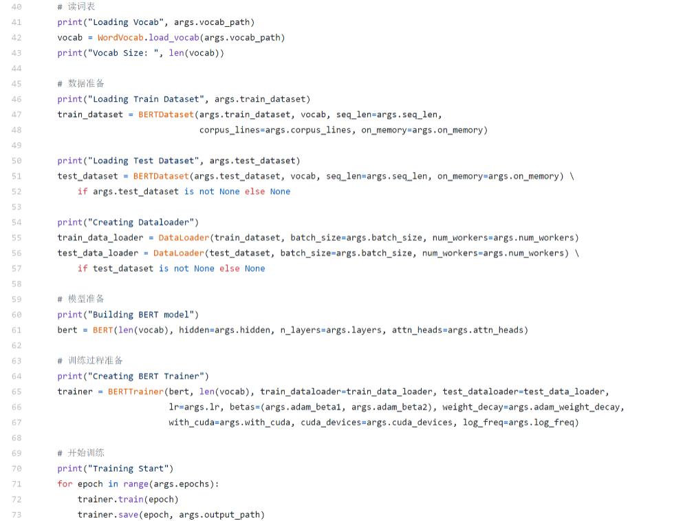 △BERT模型代码实战讲解