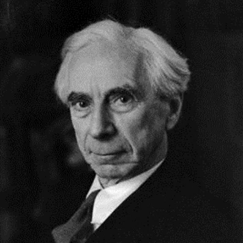 伯特兰·阿瑟·威廉·罗素(Bertrand Arthur William Russell,1872年—1970年),英国哲学家、数学家、逻辑学家、历史学家、文学家,分析哲学的主要创始人,世界和平运动的倡导者和组织者。罗素1950年获得诺贝尔文学奖,主要作品有《西方哲学史》《哲学问题》《心的分析》《物的分析》等。