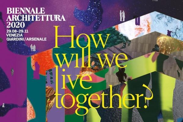 第一次宣布延期后的威尼斯建筑双年展官方海报