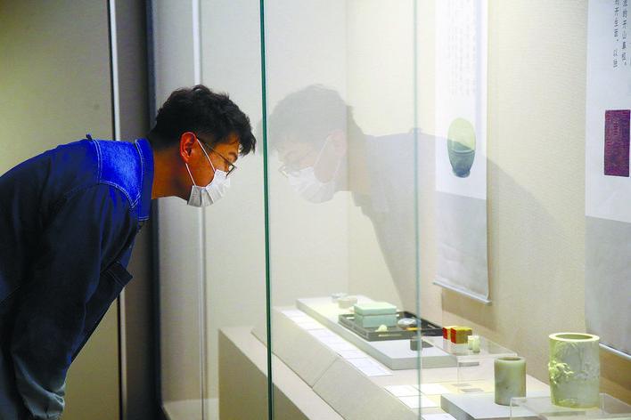 风雅江南 市民共赏 常熟博物馆藏文房珍玩展在通开展