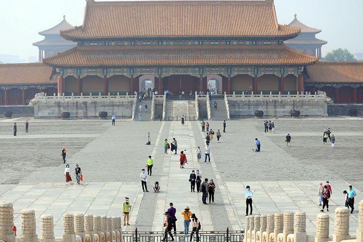 故宫开放首日:天安门尚未开放,入馆方式有变