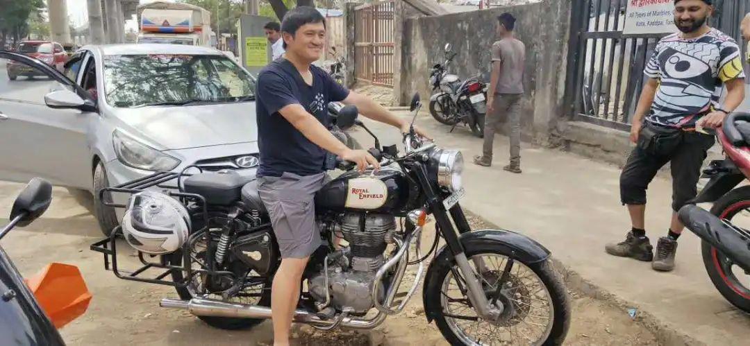 瘟疫蔓延时,我在印度的摩托车之旅