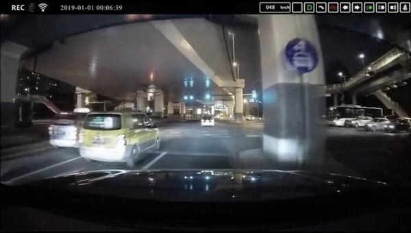 行车记录仪录像截图