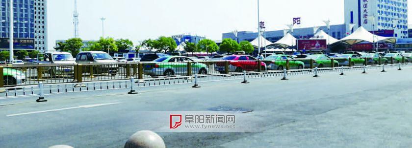 阜阳火车站站前广场再迎提升改造