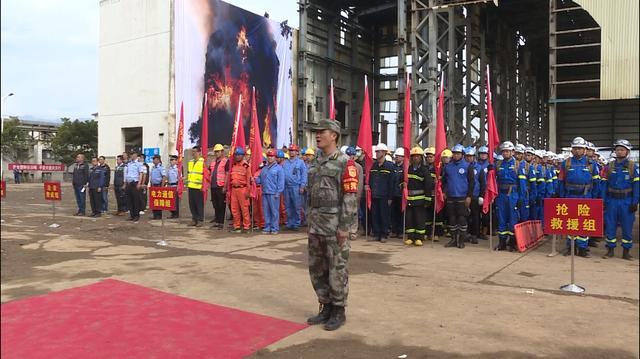 西昌市开展2020年生产安全消防安全事件综合应急演练
