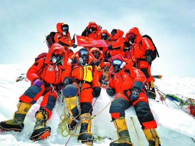28天!登顶珠峰