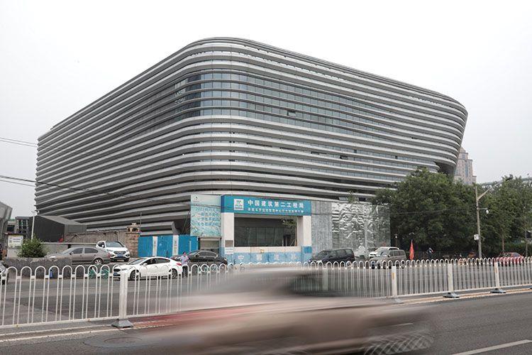 贏咖3:北京2020年贏咖3首個冬奧會新建場館峻圖片