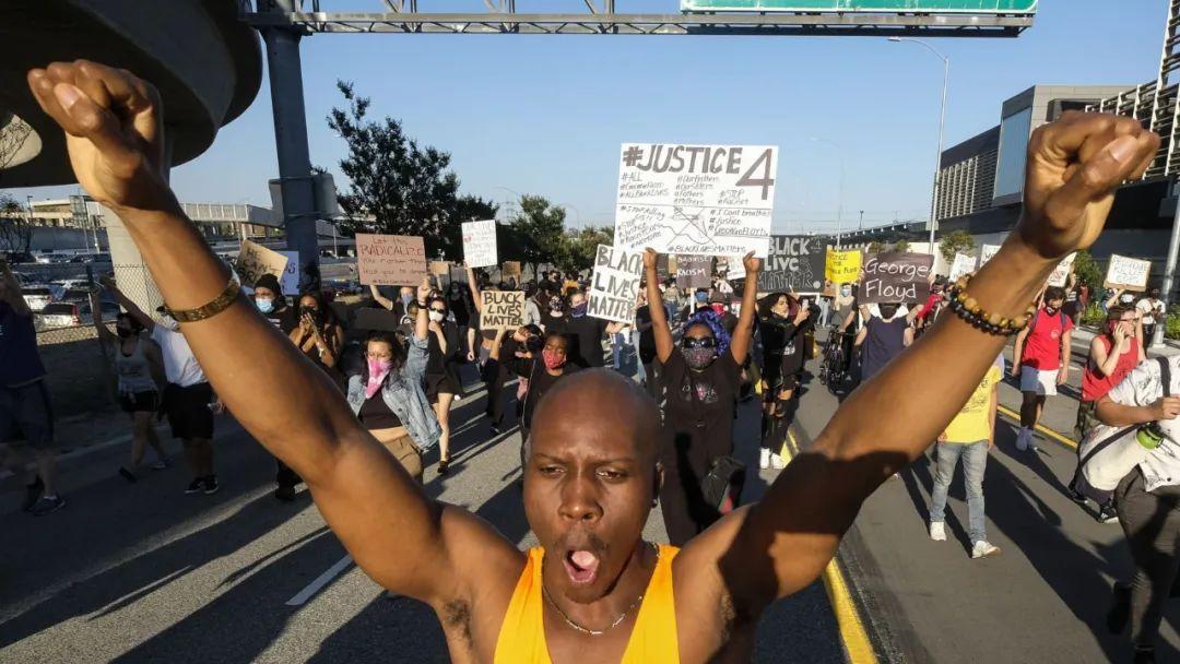 5月27日洛杉矶示威