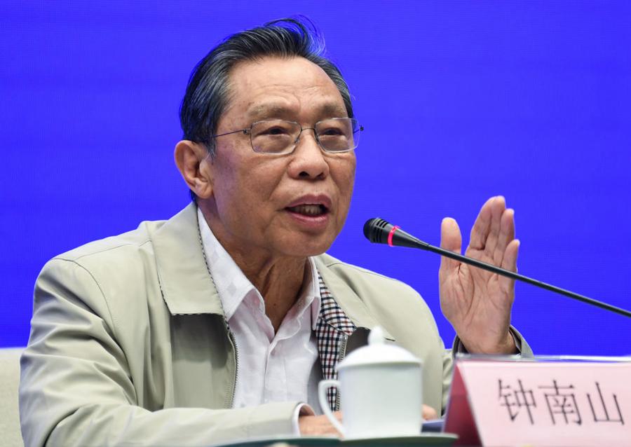 钟南山 新华社记者邓华 摄