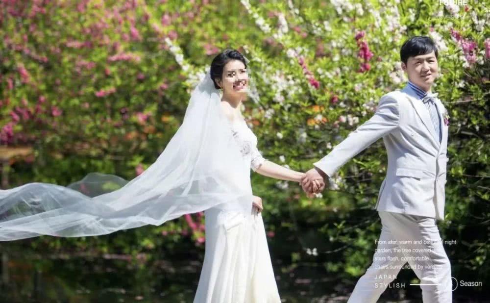 彭银华的结婚照。图片来自网络