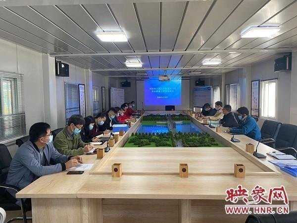 信阳市水利局对大别山革命老区引淮供水灌溉工程PPP项目开展质量体系核查